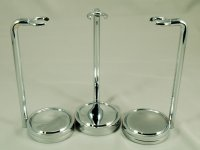 Chrome Razor Stands