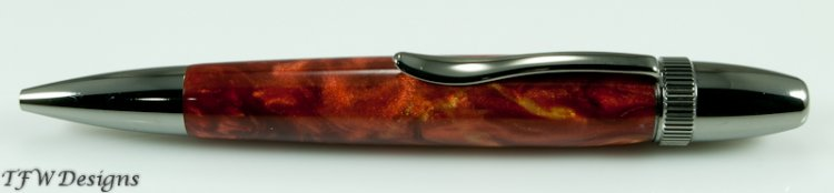 Copper Pearl Ballpoint - Click Image to Close